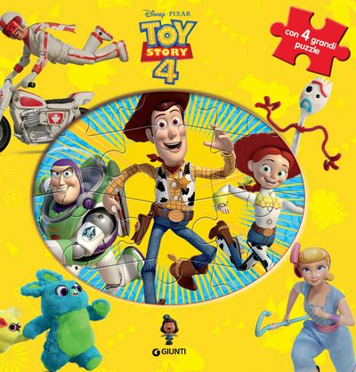 Libro Puzzle - Toy Story 4