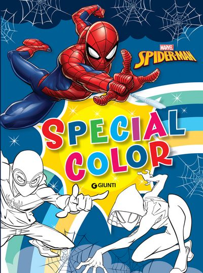 Maxi Supercolor - Special Color. Spider-Man
