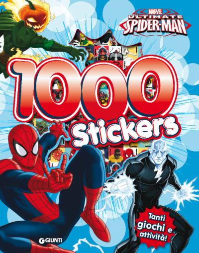 500/1000 Stickers - Ultimate Spider-Man