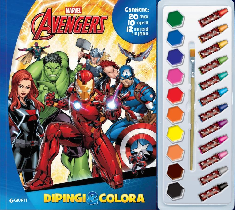 Dipingi&Colora - Avengers