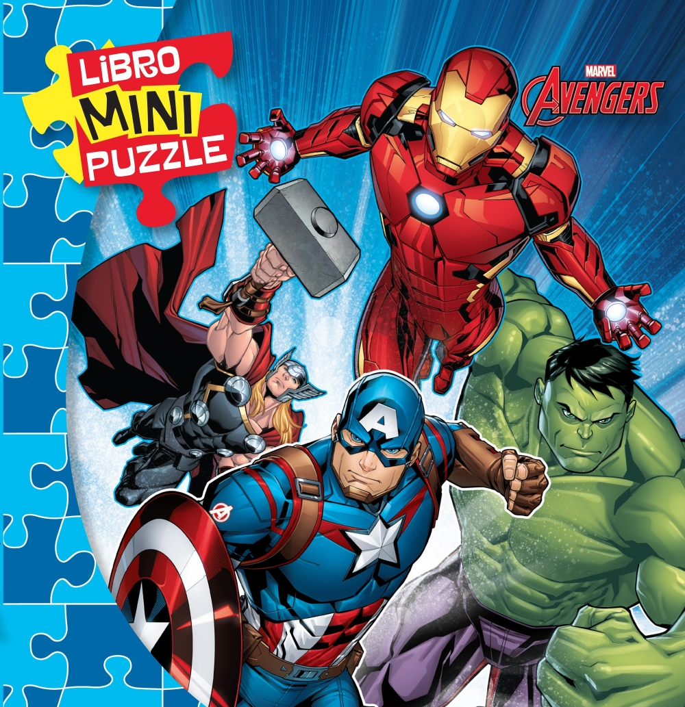 Libro Mini Puzzle - Avengers