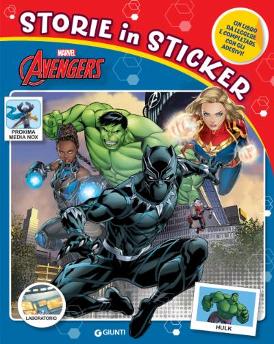 Avengers - Storie in Sticker