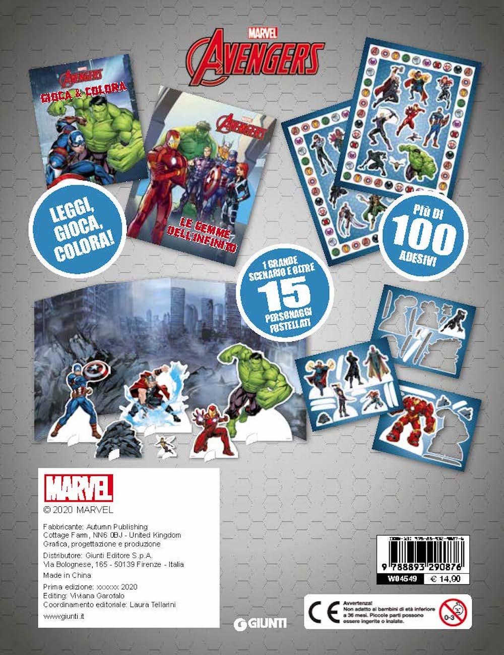 Marvel Avengers Storie di Latta
