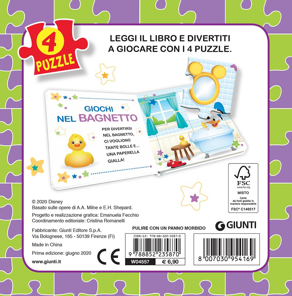Disney Baby. Libro Mini Puzzle. I miei giochi