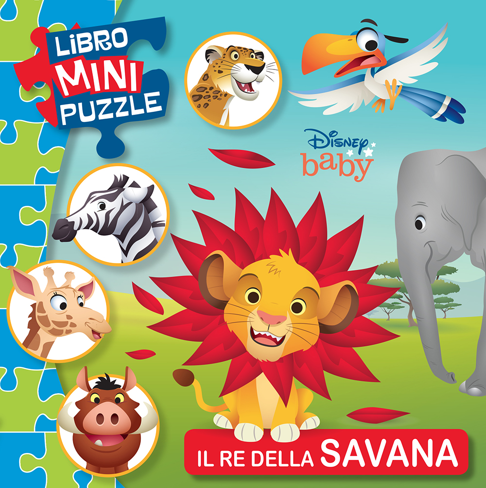 Disney Baby. Libro Mini Puzzle. Il re della savana