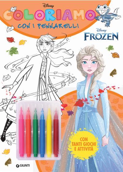 Coloriamo con i pennarelli Disney Frozen