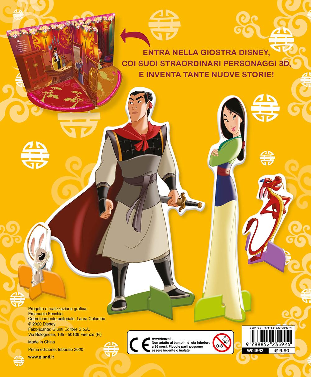 Mulan. Libro Carosello. Alla scoperta del palazzo dell'imperatore