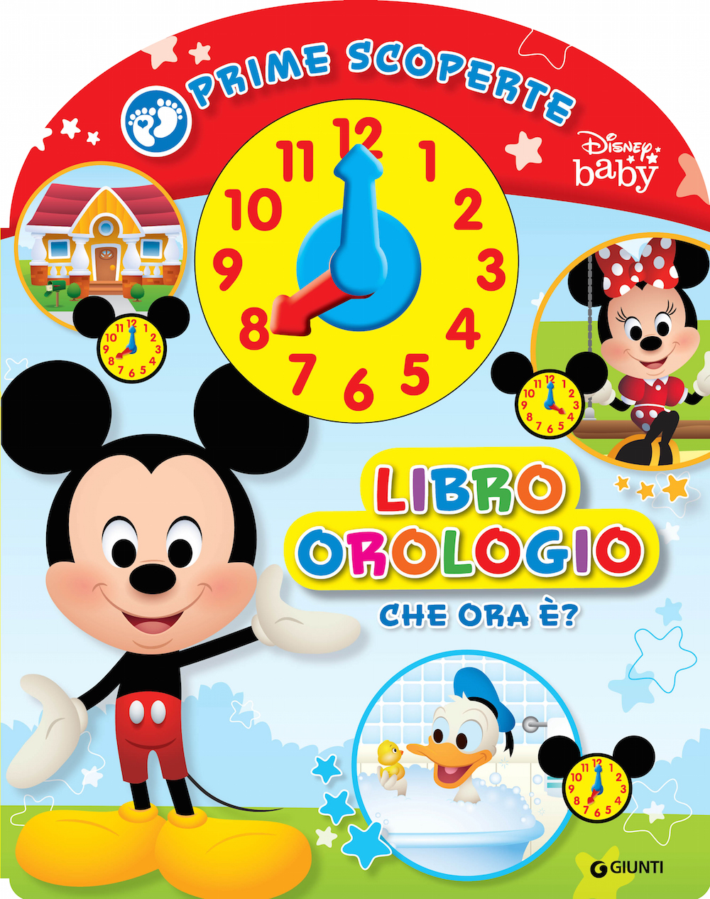 Baby Scoperte - Libro Orologio
