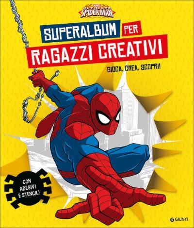 Superalbum per ragazzi creativi Spiderman Album Creativo
