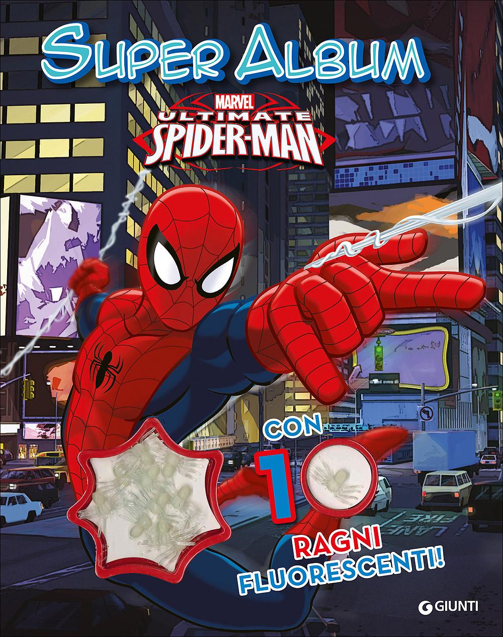Spiderman 10 ragni Super Album