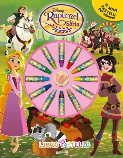 Rapunzel La Serie Libro Pastello