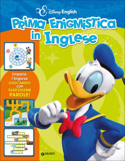 Prima enigmistica in inglese Disney English