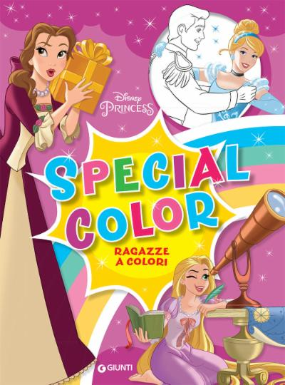 Special color Disney Princess Ragazze a colori