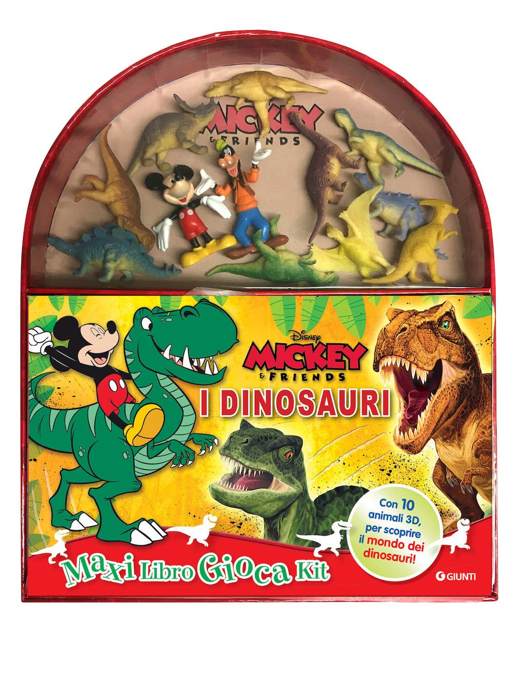 Dinosauri Mickey&Friends Maxi LibroGiocaKit