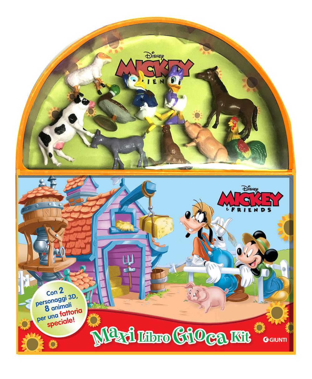 In fattoria Mickey&Friends Maxi LibroGiocaKit