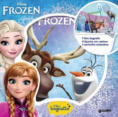 Libro bagnetto Frozen baby