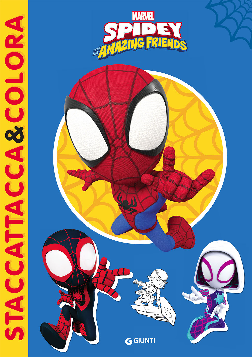 Staccattacca&colora Marvel Spidey and his Amazing friends
