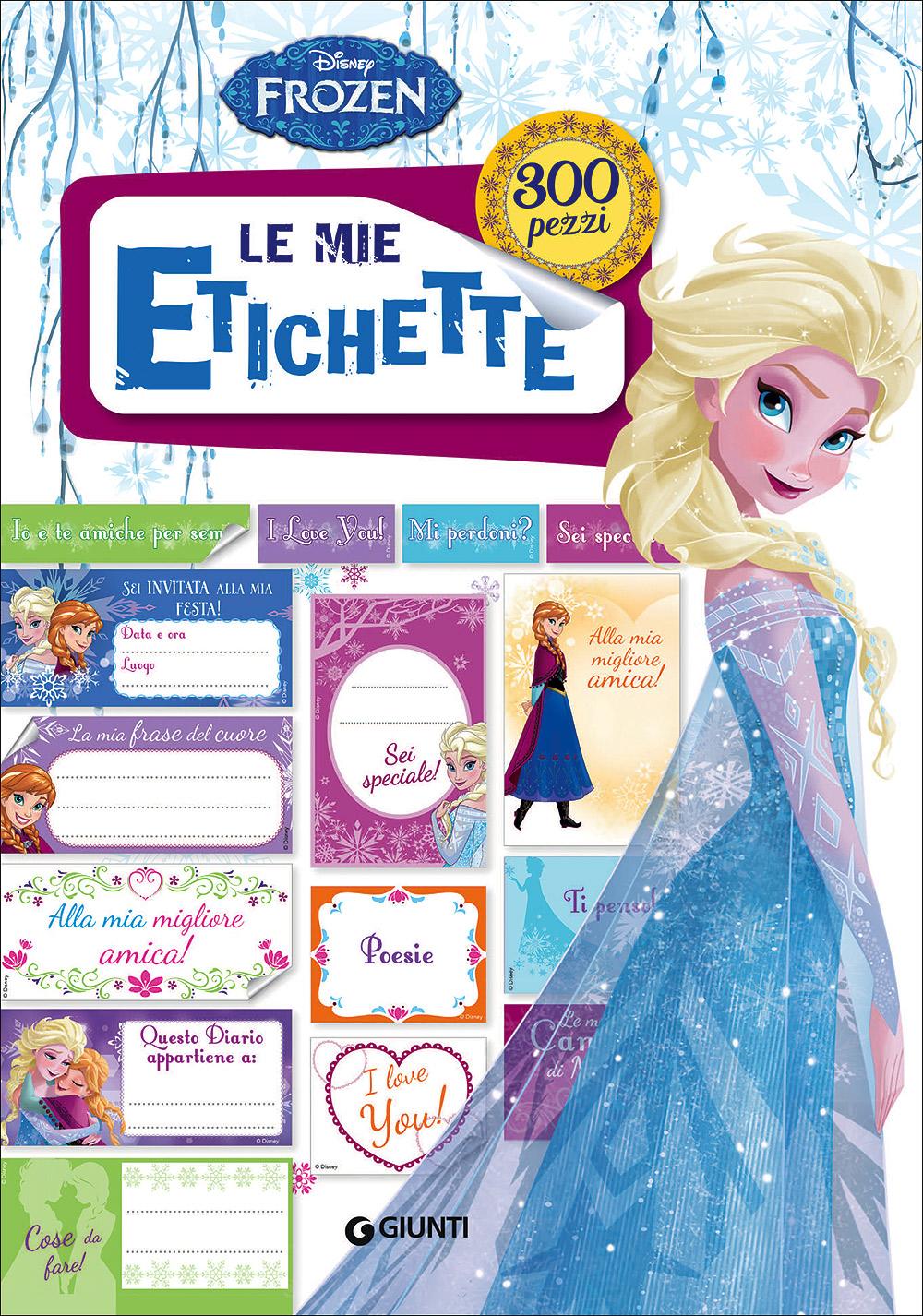 Frozen Le mie etichette