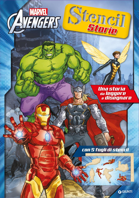 Avengers Stencil Storie