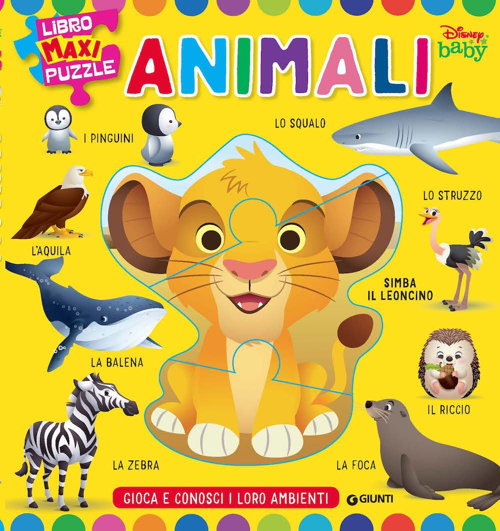 Libro Maxi puzzle Animali Baby