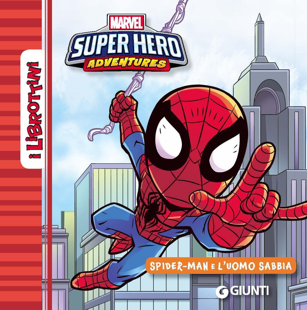 Spiderman e l'uomo sabbia - I Librottini