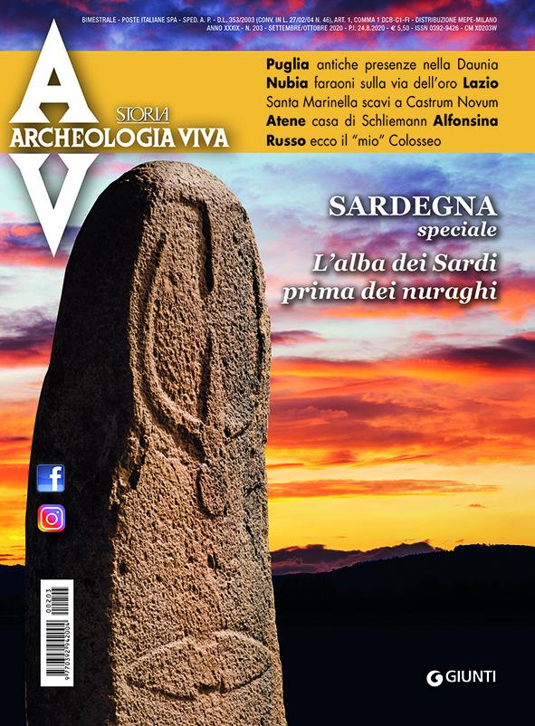 Archeologia Viva n. 203 - settembre/ottobre 2020