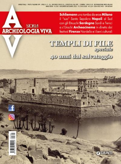 Archeologia Viva n. 204 - novembre/dicembre 2020