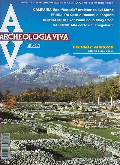 Archeologia Viva n. 94 - luglio/agosto 2002