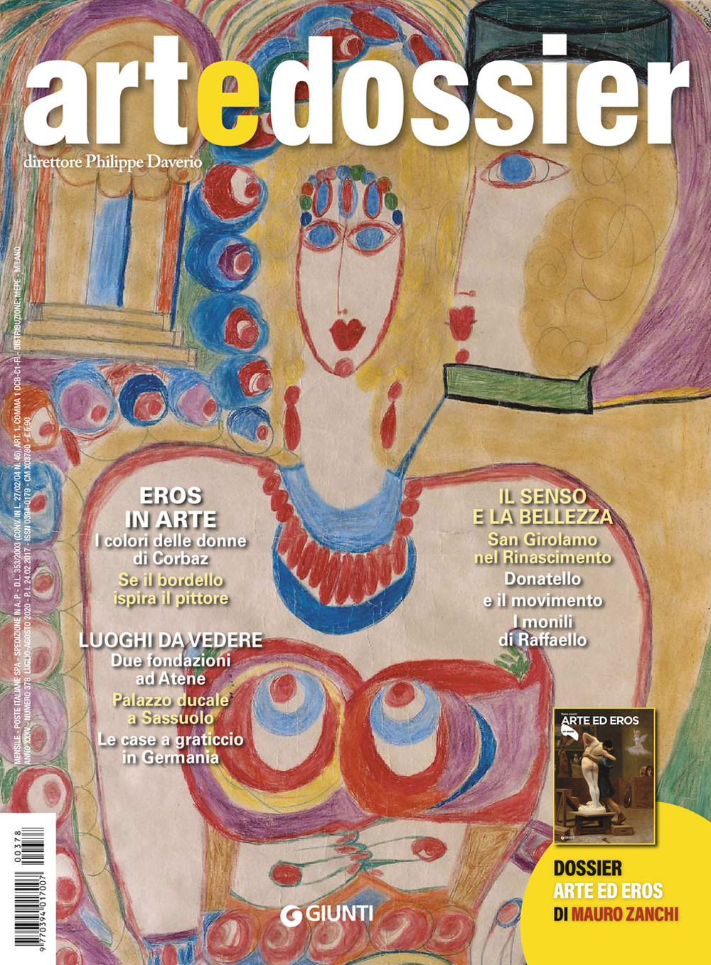 Art e dossier 378, Luglio/Agosto 2020