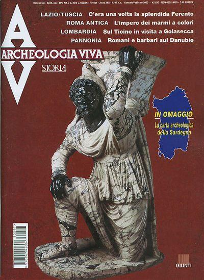 Archeologia Viva n. 97 - gennaio/febbraio 2003
