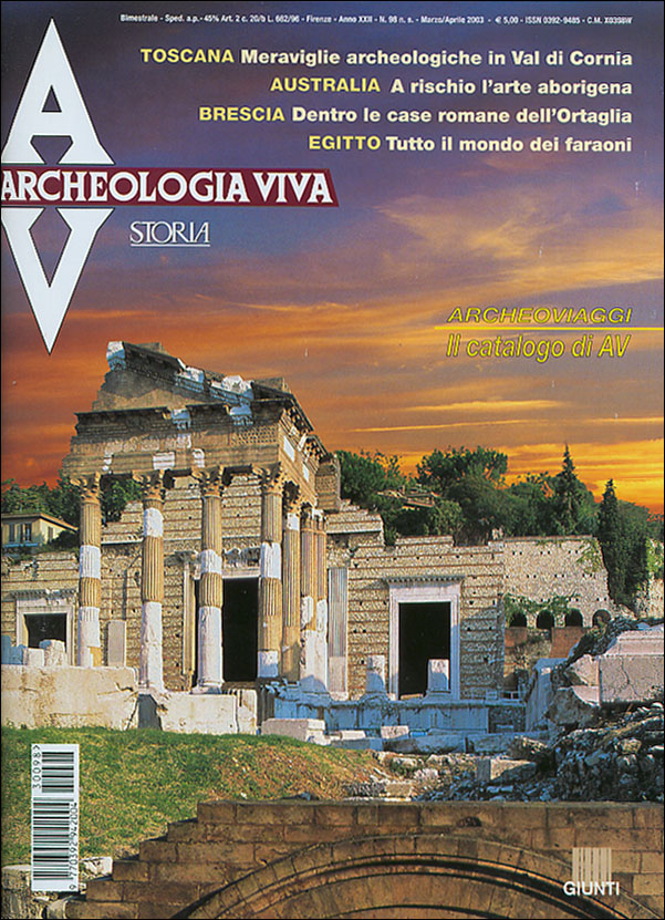 Archeologia Viva n. 98 - marzo/aprile 2003