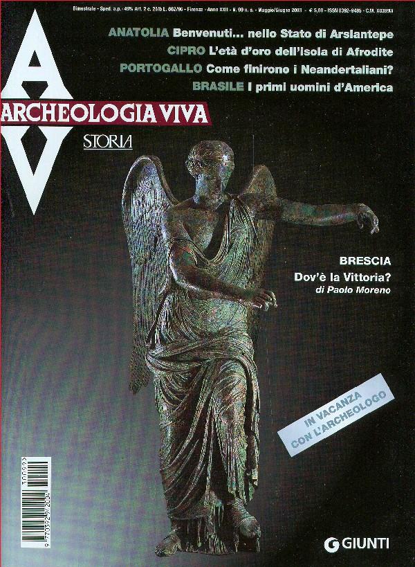 Archeologia Viva n. 99 - maggio/giugno 2003
