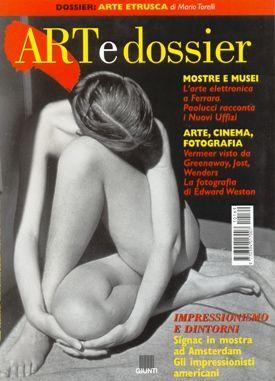 Art e dossier n. 169, Luglio/Agosto 2001