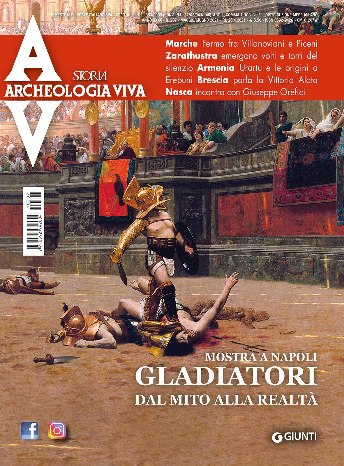 Archeologia Viva n. 207 - maggio/giugno 2021
