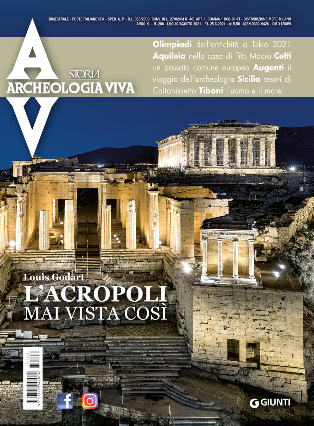 Archeologia Viva n. 208 - luglio/agosto 2021
