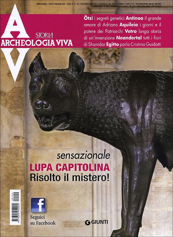Archeologia Viva n. 154 - luglio/agosto 2012