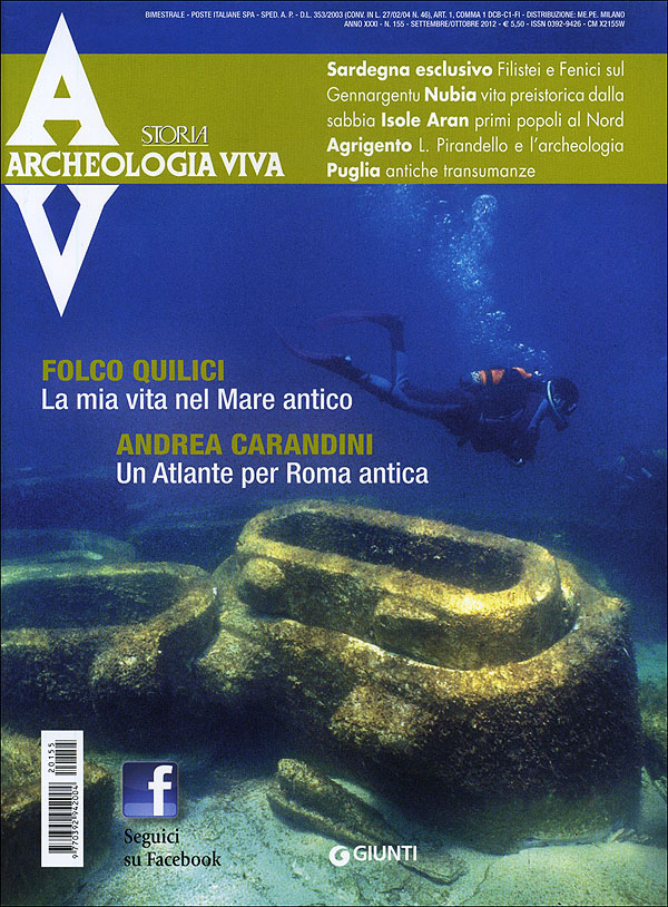 Archeologia Viva n. 155 - settembre/ottobre 2012