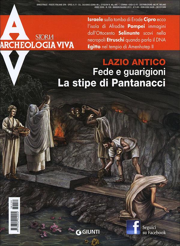 Archeologia Viva n. 159 - maggio/giugno 2013