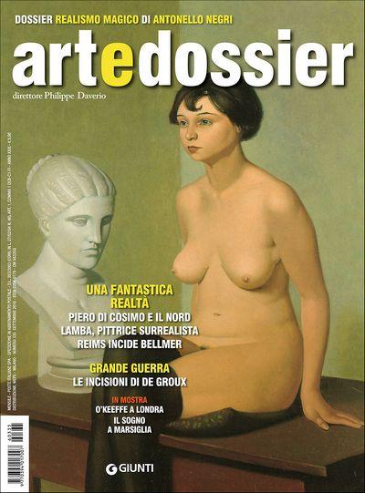 Art e dossier n. 335, settembre 2016