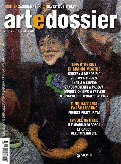 Art e dossier n. 337, novembre 2016
