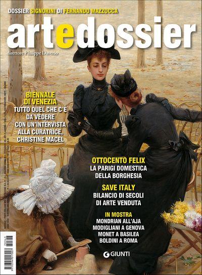 Art e dossier n. 343, maggio 2017