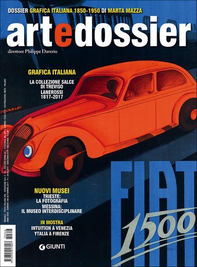 Art e dossier n. 346, settembre 2017