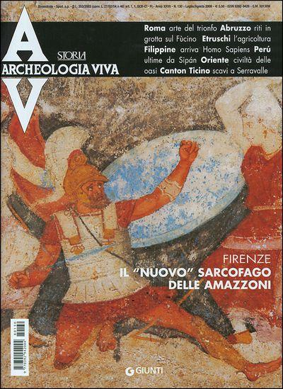 Archeologia Viva n. 130 - luglio/agosto 2008