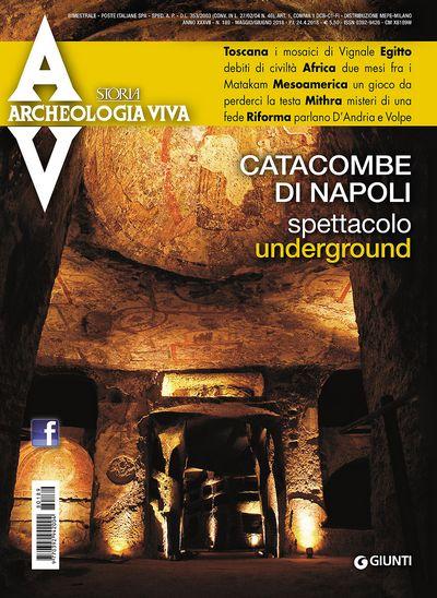 Archeologia Viva n. 189 - maggio/giugno 2018