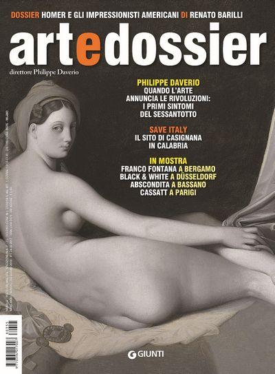 Art e dossier n. 355, giugno 2018