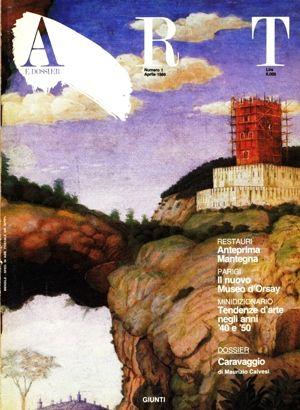 Art e dossier 1, Aprile 1986