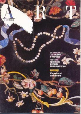 Art e dossier n. 6, Ottobre 1986