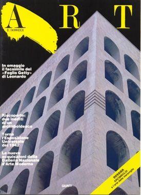 Art e dossier n. 11, Marzo 1987