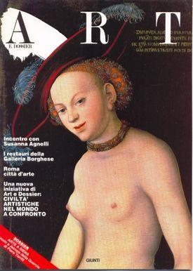 Art e dossier n. 15, Luglio/Agosto 1987