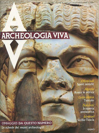 Archeologia Viva n. 1 - settembre/ottobre 1988